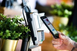 Contactless payments Freemans Event Partners