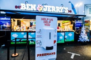 Freeemans Event Partners Catering Ben & Jerry's